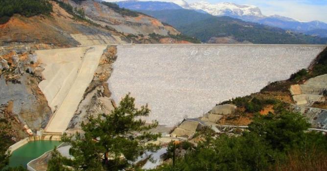 Dim Barajı'nda fazla sular bırakılacak