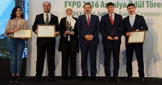 EXPO'da Alanya Bahçesi'ne ikincilik ödülü