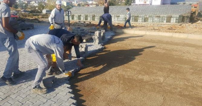 Gazipaşa'da hummalı çalışma