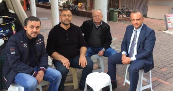Gündoğdu'ya Kıbrıs'tan ziyaret
