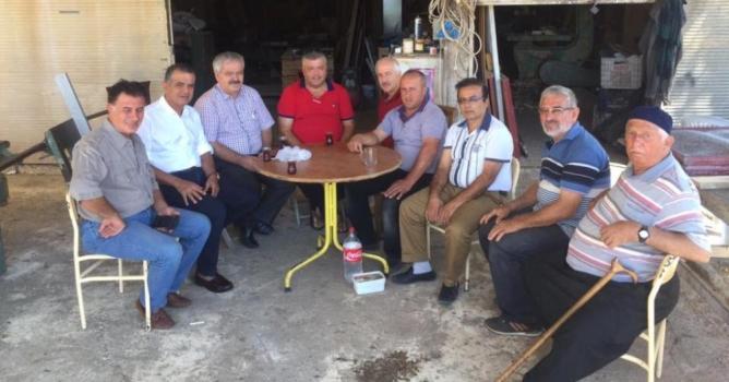 Güney ve muhtarlar Bursa'da