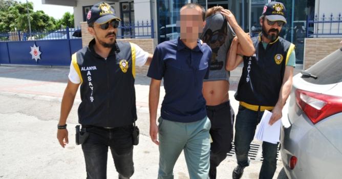 İki hırsızlık şüphelisi gözaltına alındı