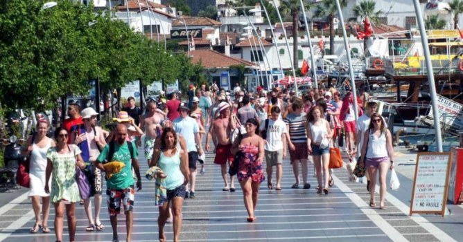 İşte 2016'nın resmi  turizm bilançosu!