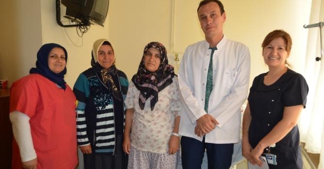 Jinekolojik onkoloji  ameliyatına başlandı
