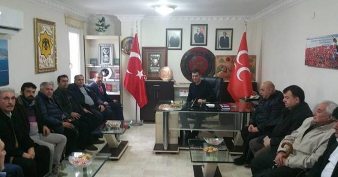 Maraşlılardan MHP'ye teşekkür