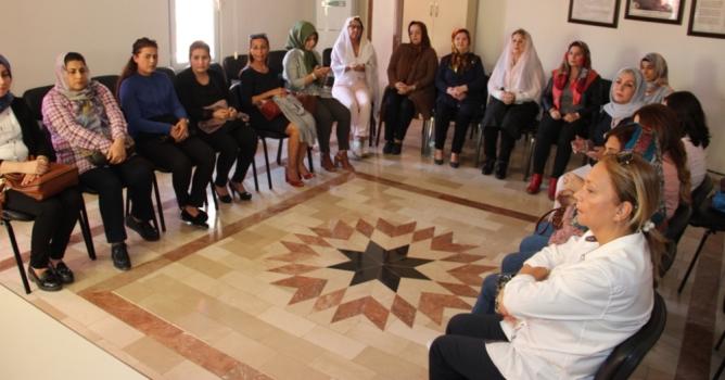 MHP'li kadınlar şehitleri unutmadı