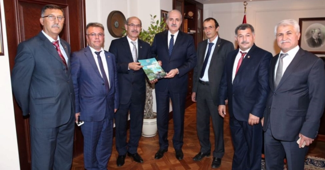 Musluoğlu, Kurtulmuş'a dosya verdi