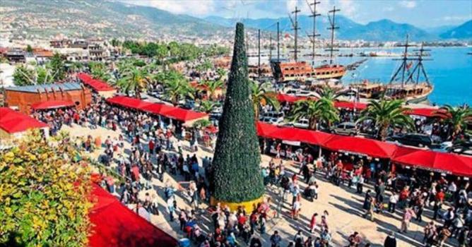 Noel pazarına davet