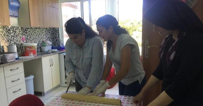 Pasta ve kurabiyeli terapi