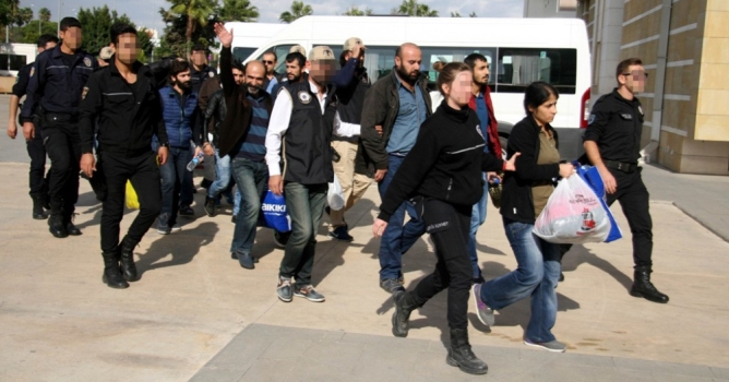 PKK/KCK'dan 9 kişi  adliyeye sevk edildi