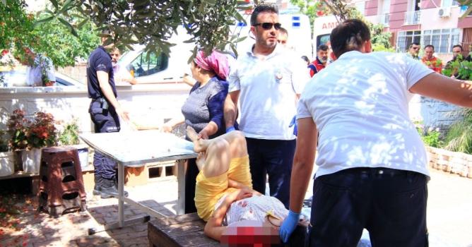 Polis, sözlüsü olan kadın polisi kazara vurdu
