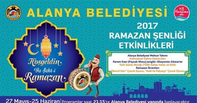 Ramazan şenlikleri başlıyor
