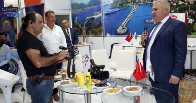 Şahin, Ruslara Alanya'yı anlattı