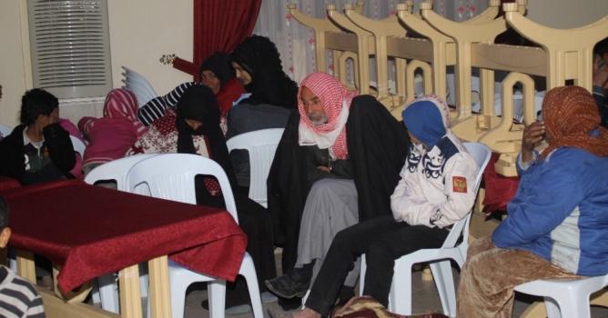 Suriyeliler mülteci kampına gönderildi