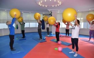 Spor merkezine yoğun ilgi