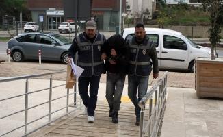 Alanya'da okullardan para çalan zanlı yakalandı