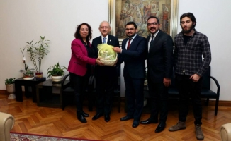 Yeşildal, Kılıçdaroğlu'nu ziyaret etti