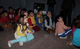 Gazipaşalı çocuklar  Gezegen Evi'ni sevdi