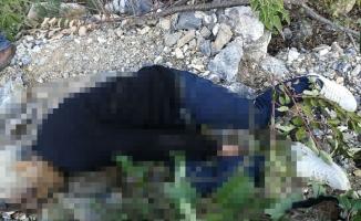Uçurum kenarında  erkek cesedi bulundu