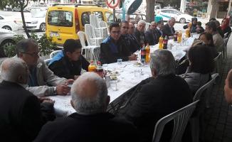 Alanya'da polis, halka buluşmaya devam ediyor