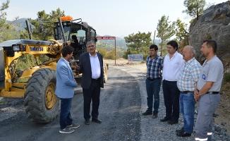 Kızılgüney-Yeniköy yolu  asfalta hazırlanıyor