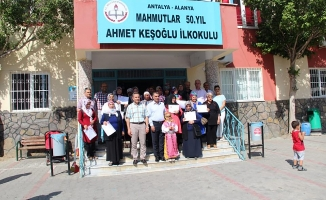 Okuma Yazma Seferberliği'ne katılanlara sertifikaları verildi