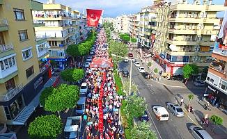 Alanya'da AK Parti Aşkı Caddelere Sığmadı