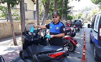 Alanya polisinden örnek uygulama