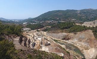 Alanya Yeniköy Barajı yükseliyor