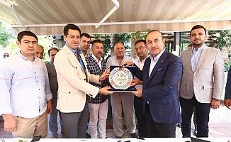 Bakan Çavuşoğlu, Kayserililerle buluştu
