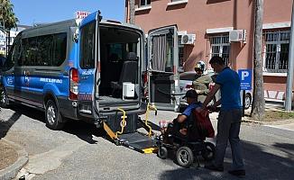 BŞB'den engellilere servis hizmeti