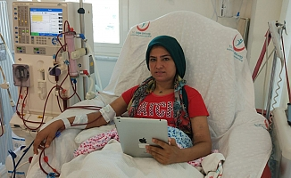 Diyaliz hastalarına  internet ve tablet  uygulaması