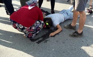 Gazipaşa'da genç kız motosiklet kurbanı