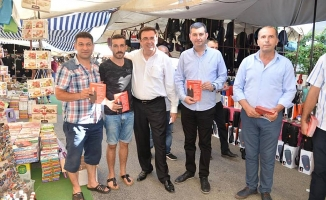 MHP çarşı, pazar dolaşıyor