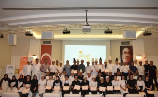 64 personele güvenilir eller sertifikası