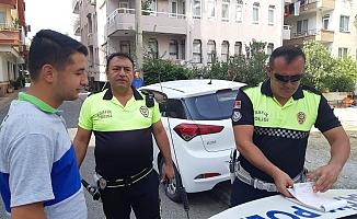 Alanya polisi saygısız sürücüleri affetmiyor