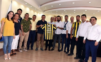 Fenerbahçeliler ziyaret turunda