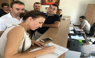 İlçe Başkanı Coşar'da imza verdi
