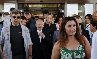 Kılıçdaroğlu, 'Siyasetin Ceo'su' pankartıyla karşılandı