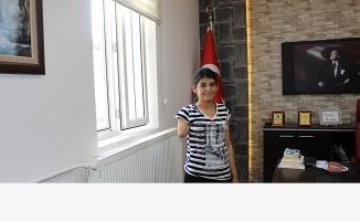 Protez kol bekleyen  Fatma için kampanya