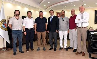 Rotary Kulübü'nden Yücel'e ziyaret