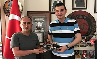 Türkdoğan'a Kırıkkale'den ziyaret