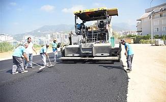 Yeni köprü  asfaltlanıyor