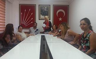 CHP'de kadın kolları başkanı değişti