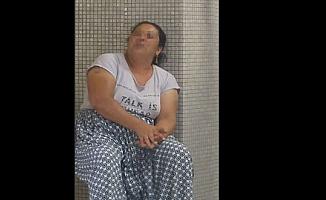Hırsızlık yapan hurdacı kadın tutuklandı
