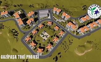 Gazipaşa'da TOKİ müjdesi