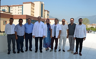 Hastane kafeteryası  törenle hizmete açıldı