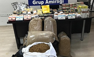 Kaçak ürünler ele geçirildi