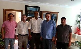 MHP'lilerden yeni müdüre ziyaret