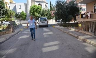 SARAY MAHALLESİ'NDE KALDIRIMLAR YENİLENİYOR